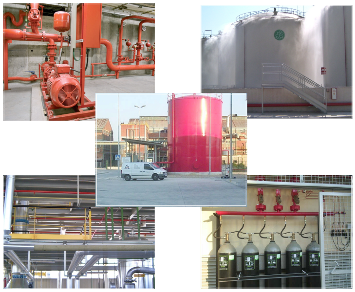 Proyectos de sistemas contra incendios grupo coyma - Sistemas de seguridad contra incendios ...